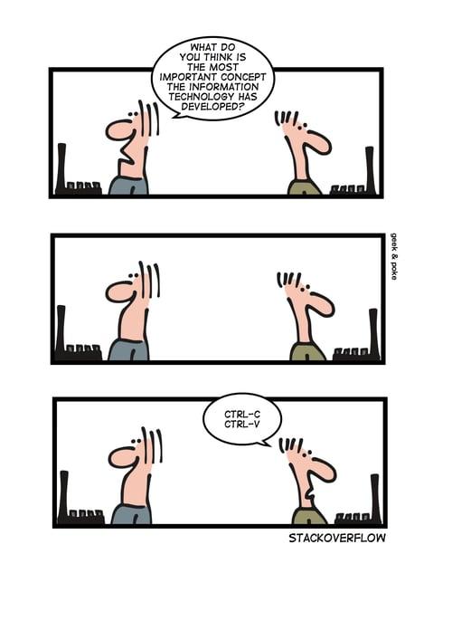 Coding comic