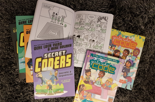 Coding story books and comic